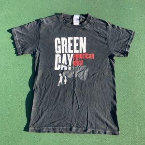 2005 Green Day American Idiot Tank Graphic Tee
